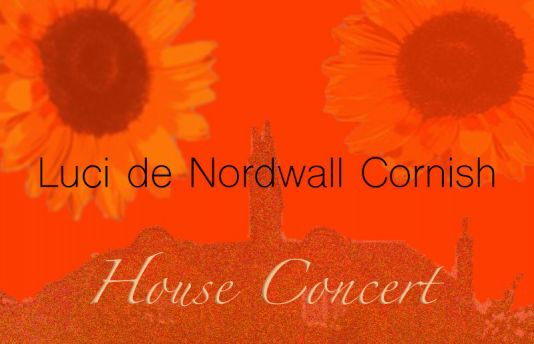 Luci de Nordwall Cornish House Concert