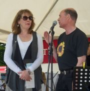 Phyllis Logan opening the 2013 Festival