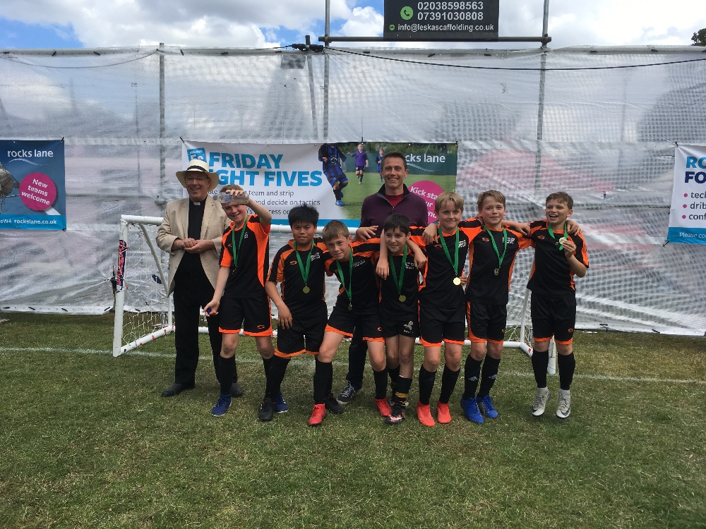 Under-11 X winners - Fireflies
