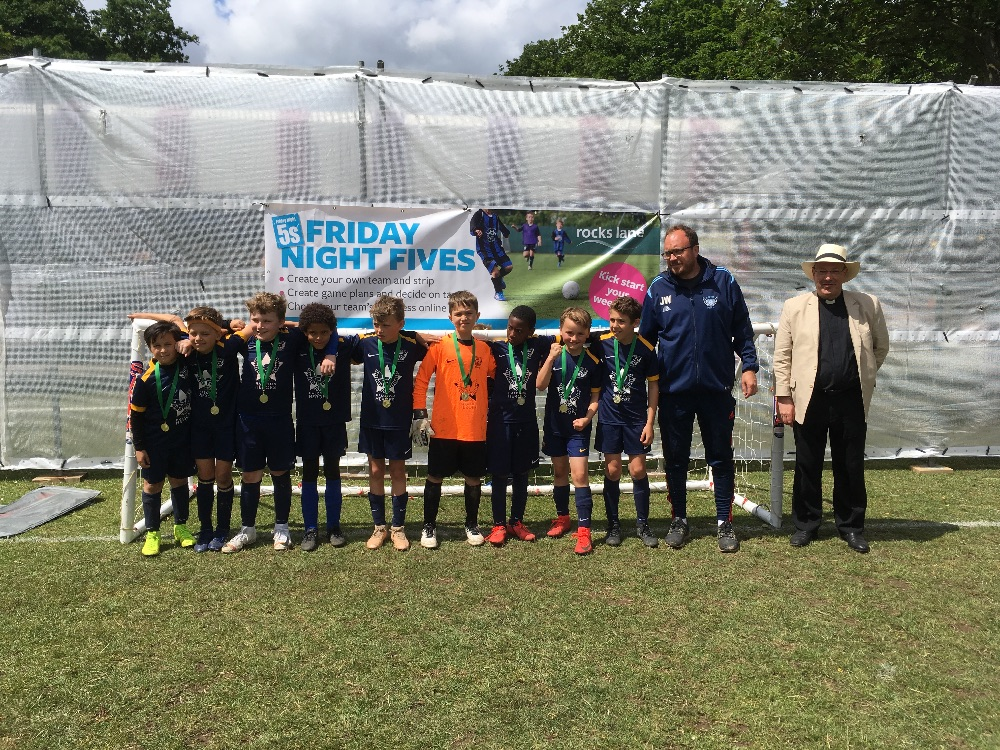 Under-9 winners - Aspire