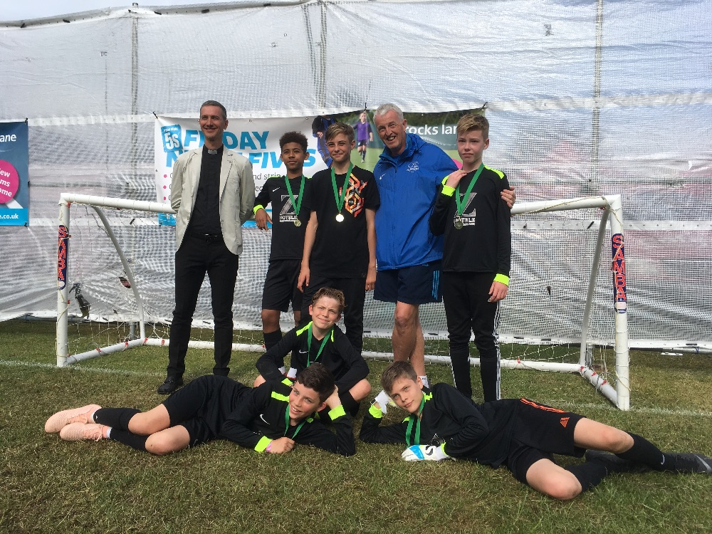 Under-13 winners - Goals R Us