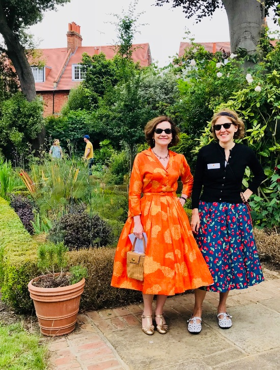 Fashionistas at the Open Gardens