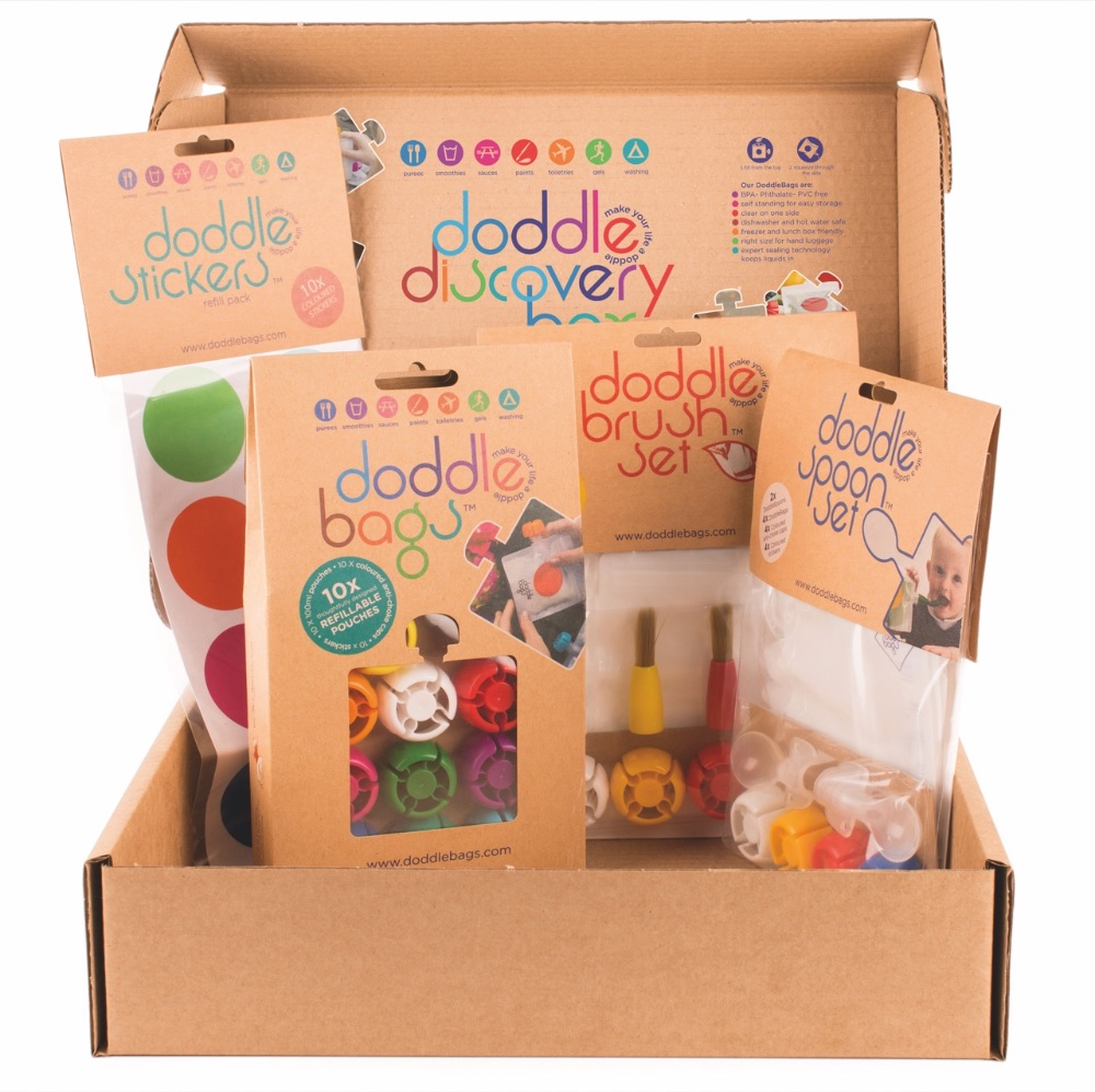 Eco company Doddlebags also makes an Art Box for children