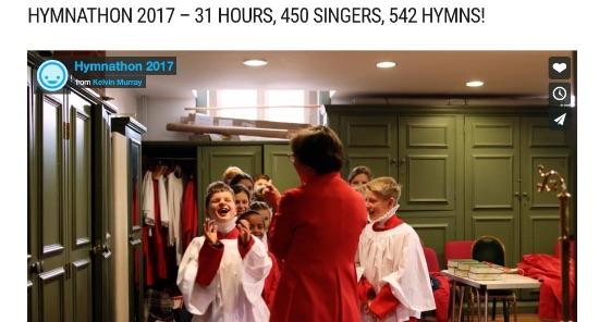 The joy of singing!