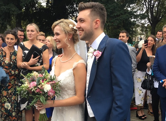 Milly & Louis's wedding at St Michael & All Angels